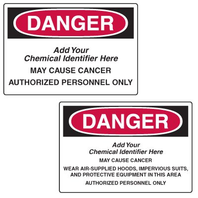 Custom Mandatory GHS Safety Signs