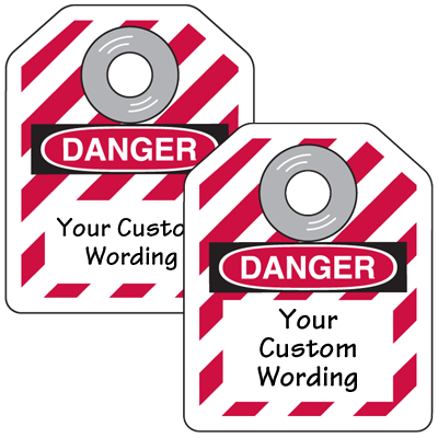 Custom Mini Safety Lockout Tags