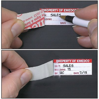 Custom Self-Laminating Label