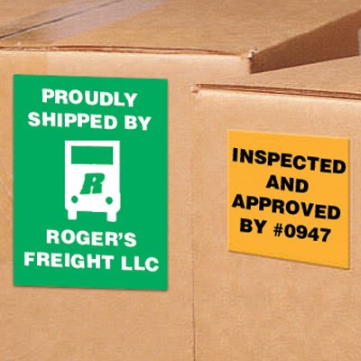 Custom Shipping Labels