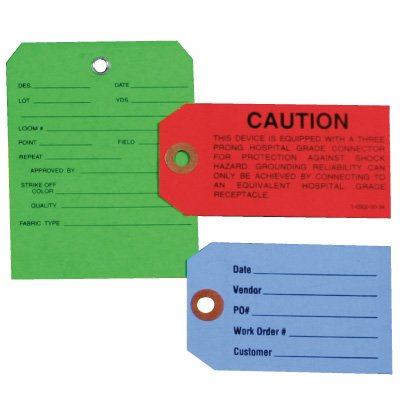 Custom Sized Cardstock Tags