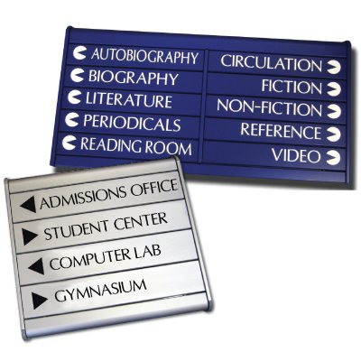 Custom Snap Lock Aluminum Directories