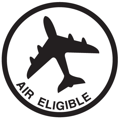 Air Eligible Regulatory Labels