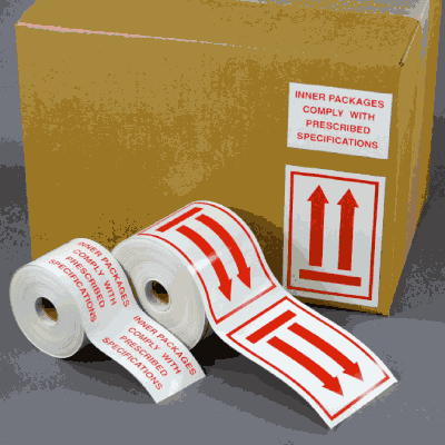 Dangerous Goods Regulatory Labels - Overpack