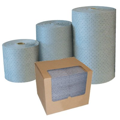 Sorbent Pads & Rolls For Any Type Of Spill
