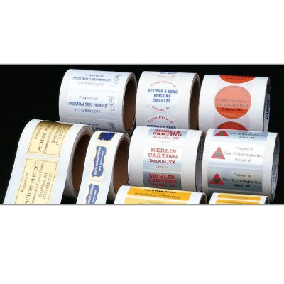 Custom Deluxe Hot Stamped Labels On A Roll