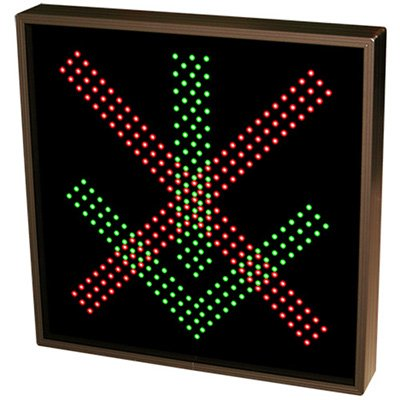 Bold Direct View LED Sign - X | Down Arrow