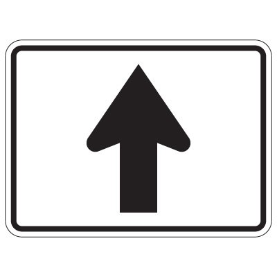 Directional Arrow Traffic Signs - Arrow Up