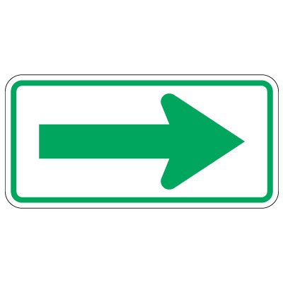 Directional Traffic Signs - Arrow