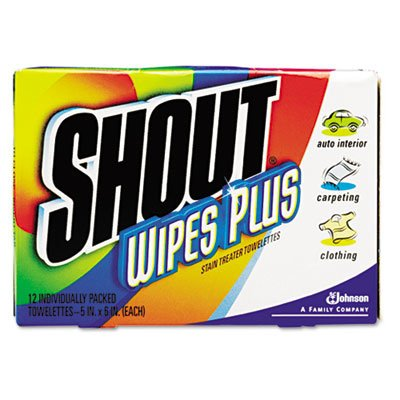 Diversey™ Shout® Instant Stain Treater Wipes DVO94354