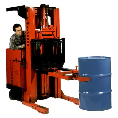 Drum Grab Forklift Attachment, One Handle