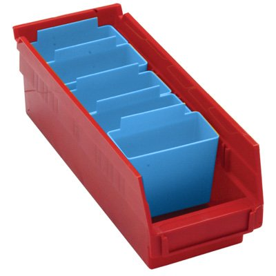 Bin Cups For Durable Plastic Shelf Bins