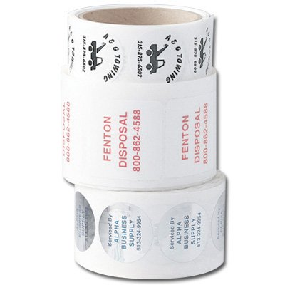 Custom Durable Quick-Ship Roll Form Labels