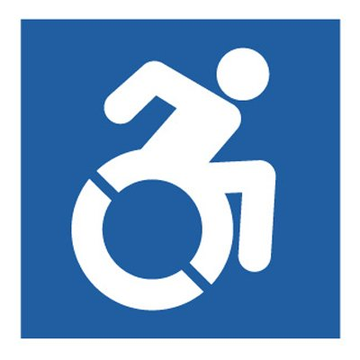 Dynamic Accessibility Graphic  - Accessibility Symbol Signs