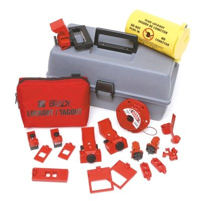 Brady Electrical Lockout Toolbox Kit - Part Number - 99310 - 1/Each