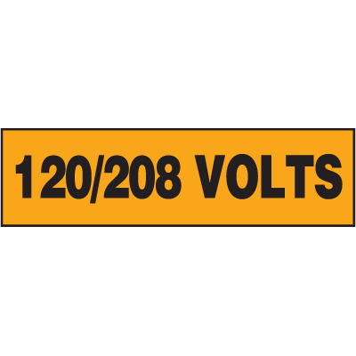 Electrical Marker Packs - 120/208 Volts