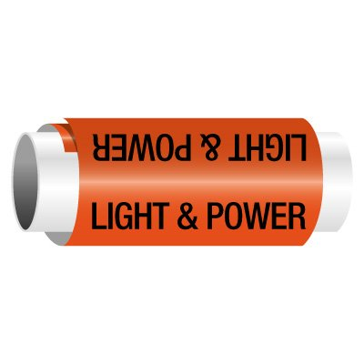 Light & Power - Snap-Around Electrical Markers
