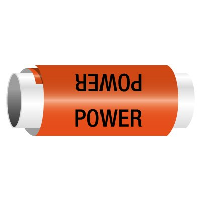 Power - Snap-Around Electrical Markers