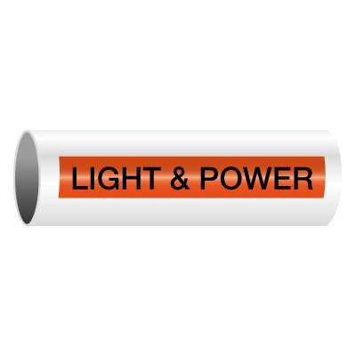 Light & Power - Self-Adhesive Electrical Markers