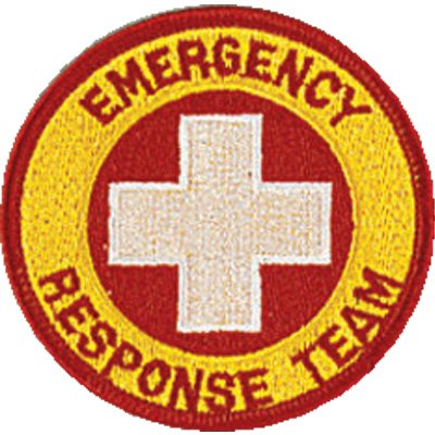 Emergency Response Team Embroidered Patch