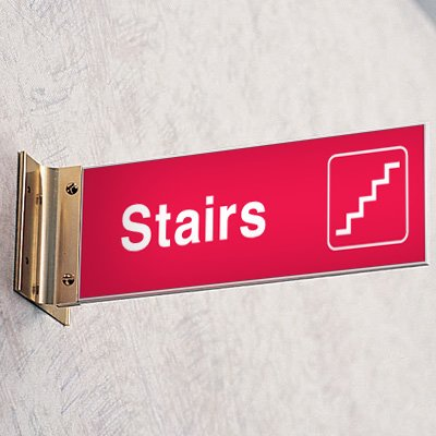Emergency Corridor Signs - Stairs