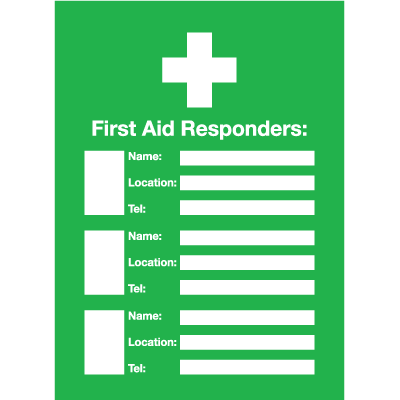 Custom First Aid Responder Emergency Frame With Photo Inserts