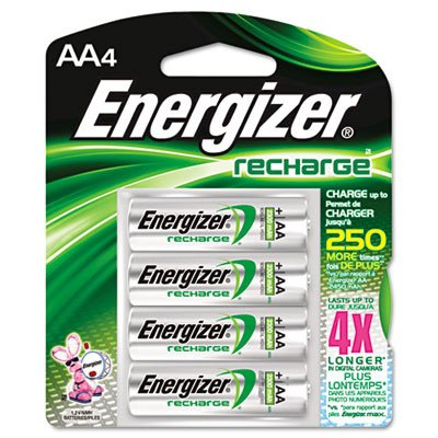 Energizer® e²® NiMH Rechargeable Batteries
