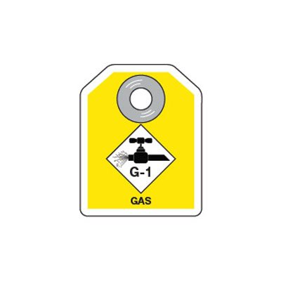 Energy Source ID Tags - Gas