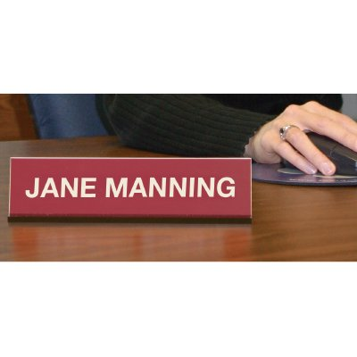 Custom Engraved Desktop Nameplates