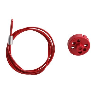 "Brady Extra Secure Prolock W 59"" Cable in Red - Part Number - 122241 - 1/Each"