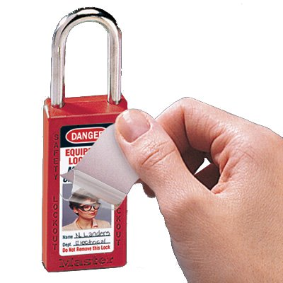 Master Lock® EZ-Photo Zenex Padlocks