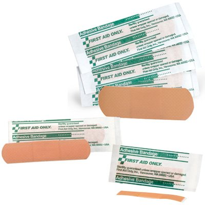 First Aid Only® Adhesive Plastic Bandages