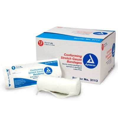 First Aid Only First Aid Only® Conforming Gauze Roll Bandage M219-12