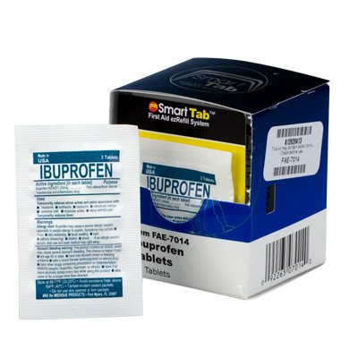 First Aid Only™ SmartCompliance™ Ibuprofen Tablets FAE-7014