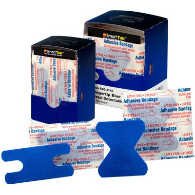 First Aid Only® Metal Detectable Knuckle & Fingertip Bandages