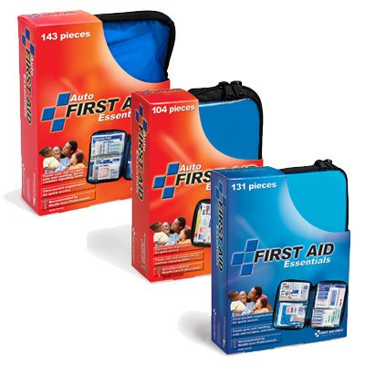 First Aid Only® Soft Pack First Aid Kit