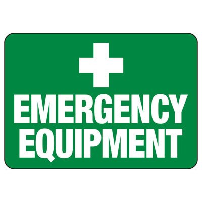 Emergency Equipment - First Aid Signs