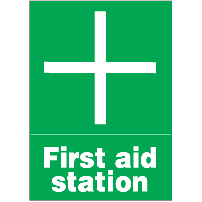 First Aid Signs - First Aid Station