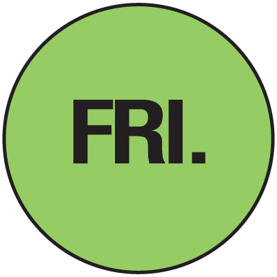 Fluorescent Fri Dot Labels