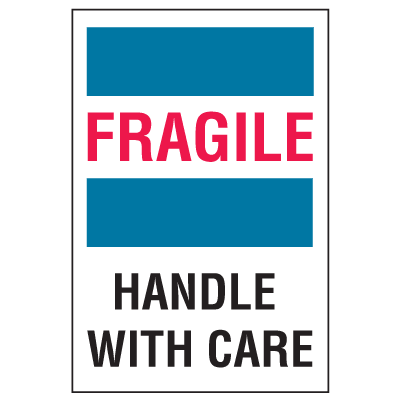 Fragile Handle With Care Labels