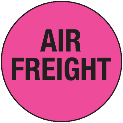 Air Freight General Information Labels