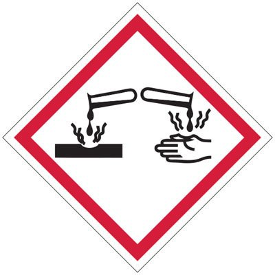 GHS Signs - Corrosive