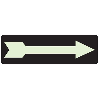 Right Arrow (Graphic) - Exit and Fire Glow Signs
