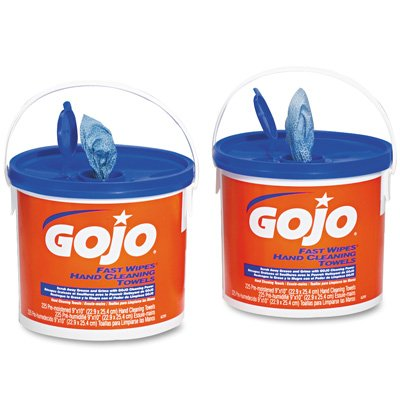 GoJo Fast Wipes Hand Cleaning Towels GOJ629902CT