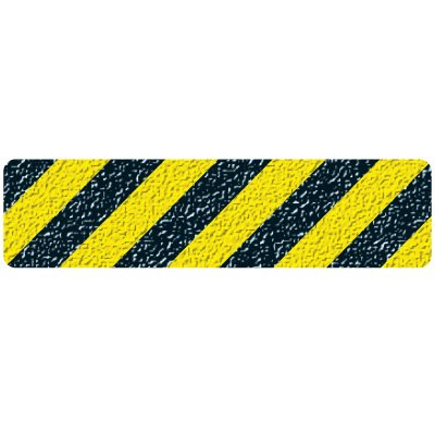 Sure-Foot Striped Warning Grit Tape Strips 84617M
