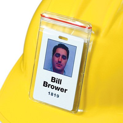 Hard Hat Badge Holder
