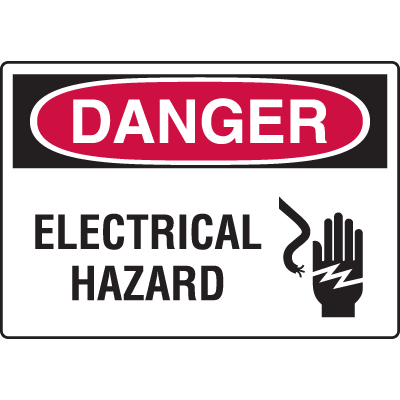 Harsh Condition OSHA Signs - Electrical Hazard