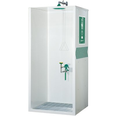Haws® Combination Shower/Eyewash Booth 8605WC