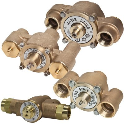Haws® Emergency Thermostatic Mixing Valves