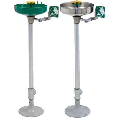 Haws® Pedestal-Mounted Eye/Face Wash Station